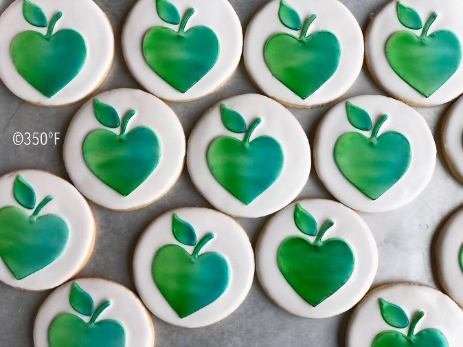 Logo cookies for a corporate event