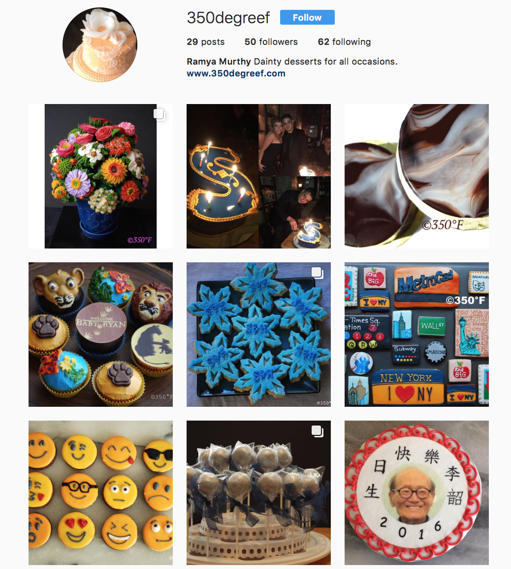 Follow us on instagram at 350degreef