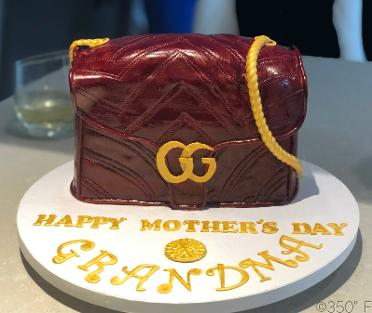 A gift for a lovely grandma on Mother's Day by her loving grandkids.