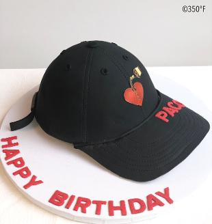 hat cake for a birthday